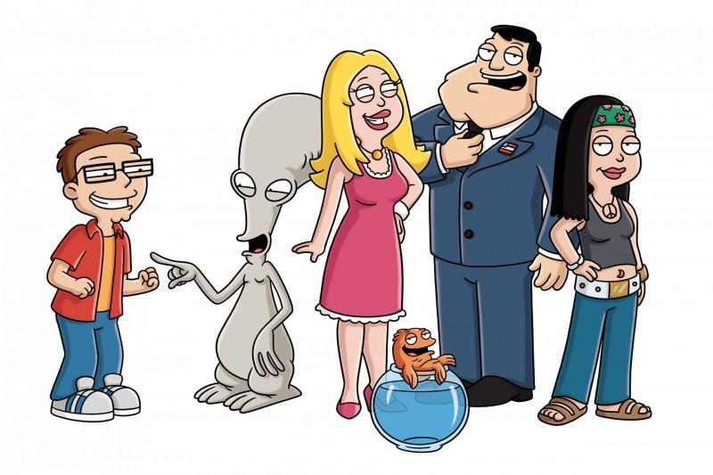 American Dad - Serien - Zeichentrickserie, Comedy