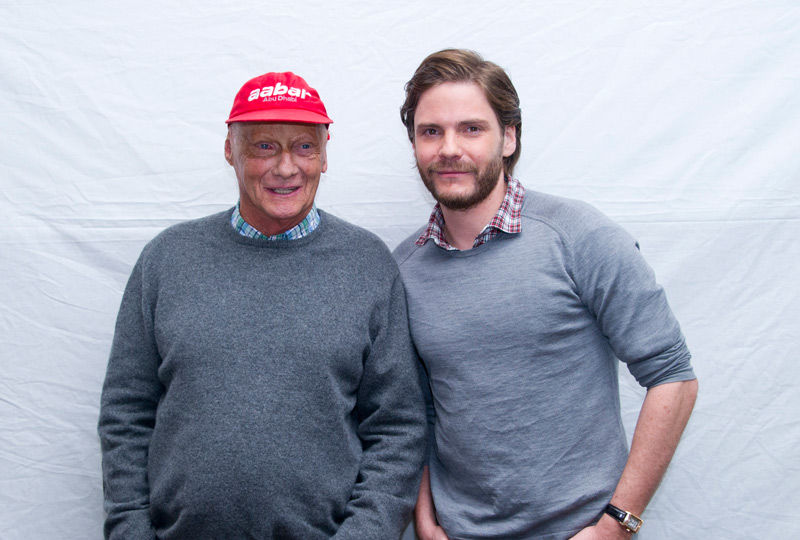 Kings of Speed:Lauda und Brühl im tele-Interview