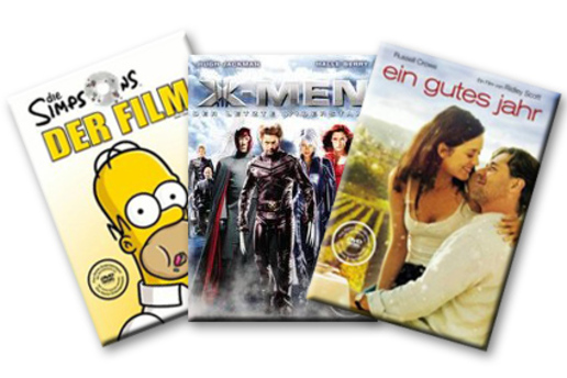 3 DVD-Box exlusiv in allen Tchibo und Eduscho-Filialen