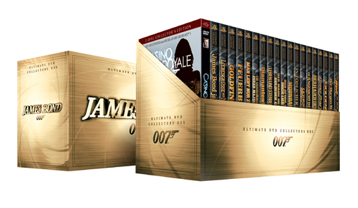 James Bond Ultimate DVD Collector's Box