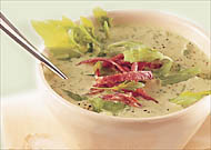 Rucola-Creme-Suppe