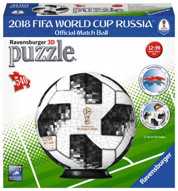 3D Puzzle-Ball – Match Ball 2018 FIFA World Cup